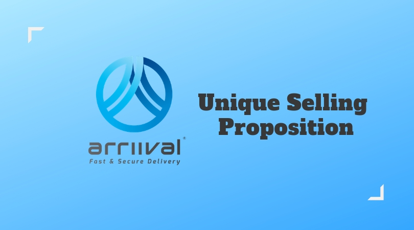 Unique Selling Proposition Of ARRIIVAL
