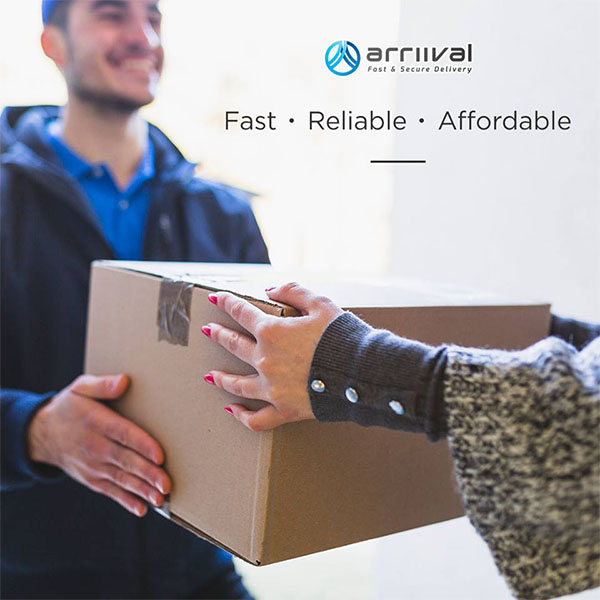 Fast And Secure Delivery Service By ARRIIVAL