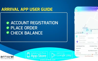 ARRIIVAL MALAYSIA App User Guide