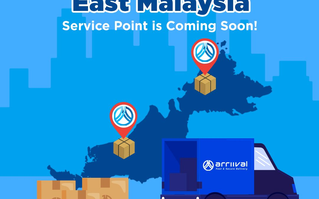 EAST MALAYSIA SERVICE POINT ARE COMING SOON