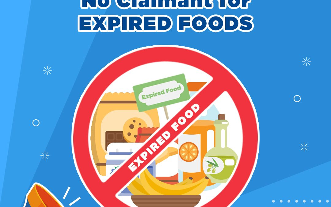 NO CLAIMANT OF EXPIRED FODD