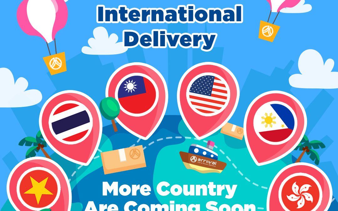 INTERNATIONAL DELIVERY ARE DEVELOPING NOW